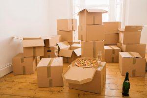 Packing up a house Preston & Blackburn